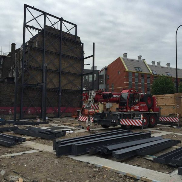 485 New Cross Road, Deptford, London - Work on RC Frame